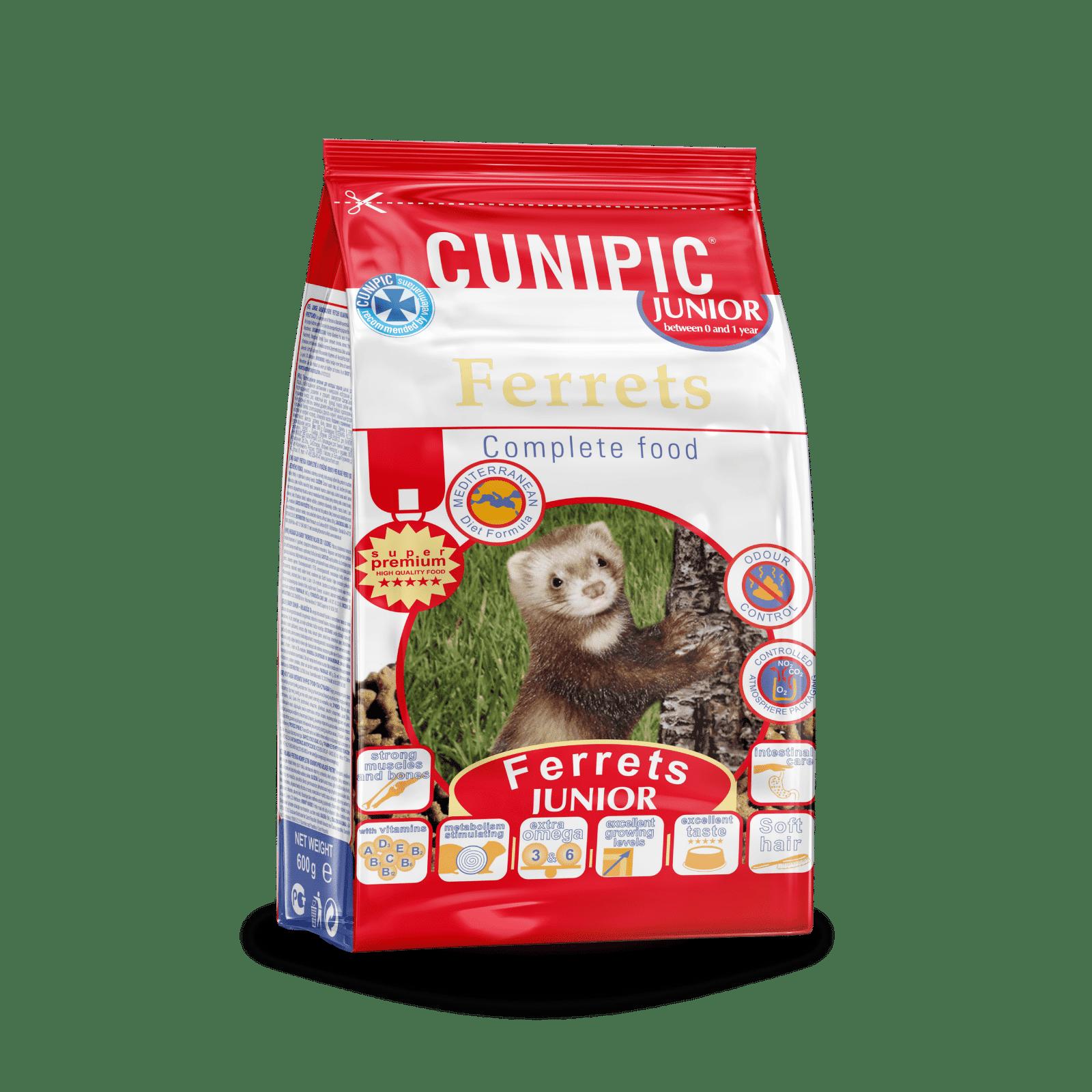 Alimentación Súper Premium para Hurón Baby Cunipic