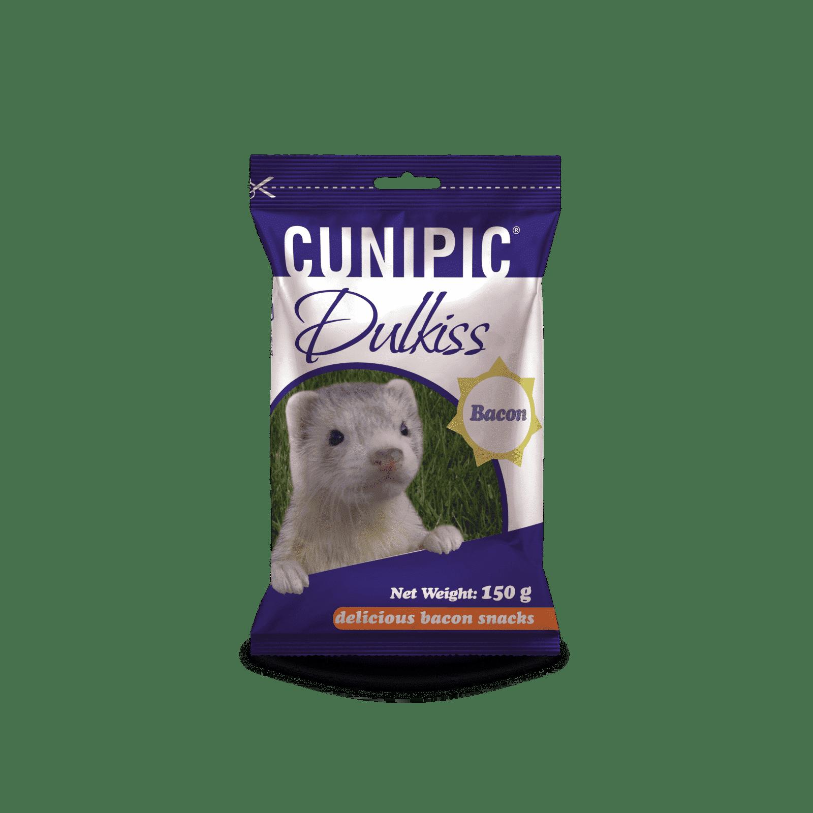 Snack Dulkis de beicon para hurones 150 g Cunipic